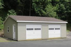 Building A Two Car Garage Buy A Temporary Garage For 1 Or 2 Cars Portable Garage