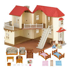 Sylvanian Families Beechwood Hall Gift Set Amazoncouk Toys  Games - Sylvanian families luxury living room set