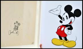 rare mickey mouse sketch on display for u0027epic u0027 game release pictures