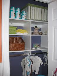 need to organize a small closet stow it away