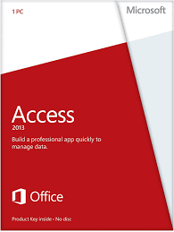 amazon com microsoft access 2013 key card no disc software