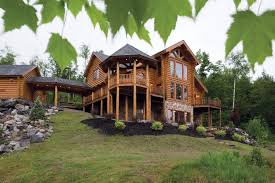 cabin home designs sunday river maine log home precisioncraft