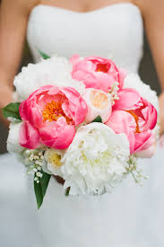 peony bouquet pink and white peony bouquet elizabeth designs the wedding