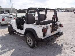 jeep 2 5 engine d4544 1995 jeep wrangler 2dr white 2 5l engine 5 speed d r 2 18 13