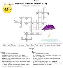 here is the answer key for the printable crossword puzzle for