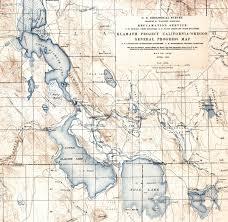 Klamath Falls Oregon Map by Es473 573 Environmental Geology