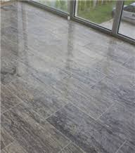 silver travertine vein cut floor tile turkey grey travertine