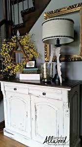 how to paint white furniture my entryway table jennifer allwood