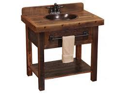 rustic bathroom vanities and sinks with copper sink ideas home