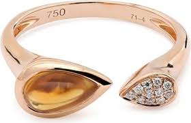 damas wedding rings damas vera 18k gold vera pear cut citrine ring price in dubai uae