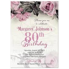 80th birthday invitations 80th birthday invitations free new