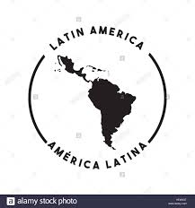 Latin America Outline Map by Latin America Map Cut Out Stock Images U0026 Pictures Alamy