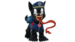paw patrol venom coloring pages kids