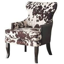 Animal Print Accent Chair Animal Print Accent Chairs Faux Cowhide Darnell Chairs