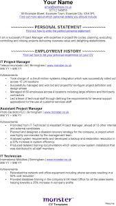 project management resume senior project manager cover letter sle program tom hazier resume