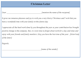 how to write a chrismas letter cover letter builder