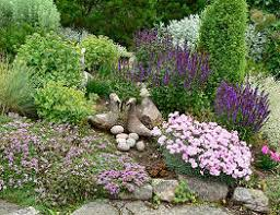 Rock Gardens On Slopes Landscaping On A Slope My Gramma Had A Beautiful Rock Garden On