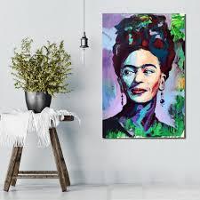 online shop qcart frida kahlo the portraits home decor canvas