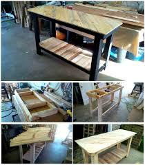 pallet kitchen island pallet kitchen island with pattern top easy pallet ideas