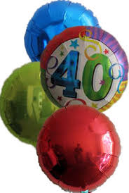 40th birthday balloons delivered general birthday balloons helium balloon delivery free chocolates