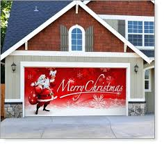 garage door decorative window replacement christmas decoration