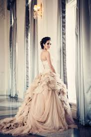 pink wedding dress disney disney fairy tale weddings by alfred