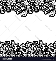 Borders For Invitation Cards Free Seamless Lace Border Invitation Card Royalty Free Vector
