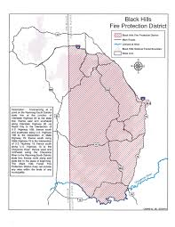 Map Of Custer State Park by Sd Wildland Fire Campfire Permits