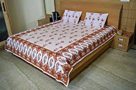 cotton bed sheet cotton bed sheet exporter from jaipur