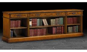 inspirations wide bookcase wooden bookcase horizontal bookcase