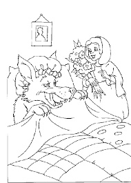 red riding hood coloring pages red riding hood coloring