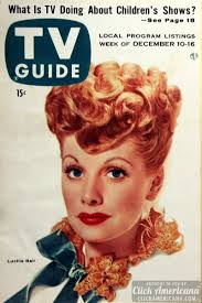 lucille ball magazine covers from the u002750s click americana