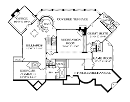 mediterranean style house plan 5 beds 6 baths 9104 sq ft plan