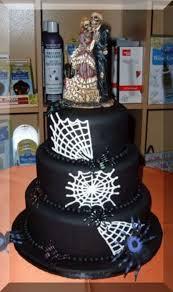 halloween wedding cake cakecentral com