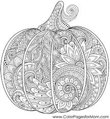 coloring pages for adults pumpkin coloring page