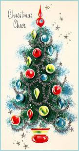 417 best old fashioned christmas cards trees images on