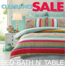 bed bath n u0027 table clearance sale catalogue by bed bath n u0027 table