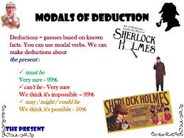 idoia first intermediate modals of deduction