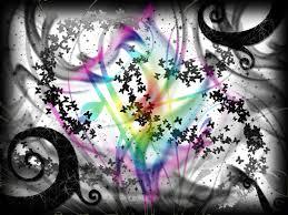 butterflies glitter in rainbow by curlykutti on deviantart