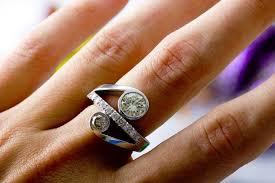unique engagement ring settings unique ring setting photos lovetoknow