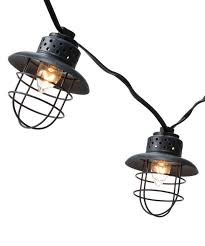 these outdoor lights are awesome smith hawken metal cage string