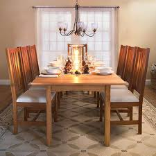Grand Mission Dining Room Chair Natural Cherry Real Solid Wood - Mission dining room table