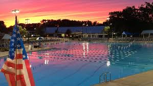 Great Pool Summer Swim Great Neck Park District Ny