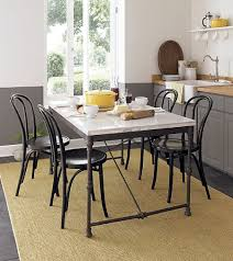 Modern Kitchen Table Sets Modern Kitchen Tables And Leather Chairs Simple But Modern