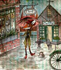 clock shop small town by birkey fox on deviantart