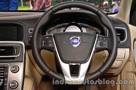 volvo steering wheel 2014 volvo s60 facelift india steering wheel indian autos blog
