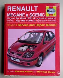 renault megane berline classic coupé scenic javítási könyv