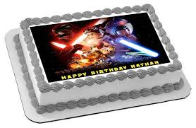 lego star wars 4 edible birthday cake topper