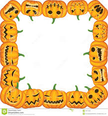 pumpkin halloween background pumpkin frame stock image image 34073431