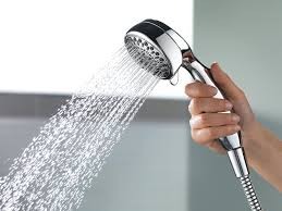 delta faucet 75700 7 setting handheld showerhead chrome hand